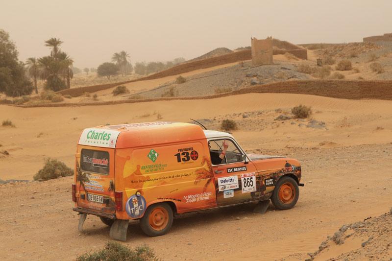 Sponsoring automobile SOTECFLU
